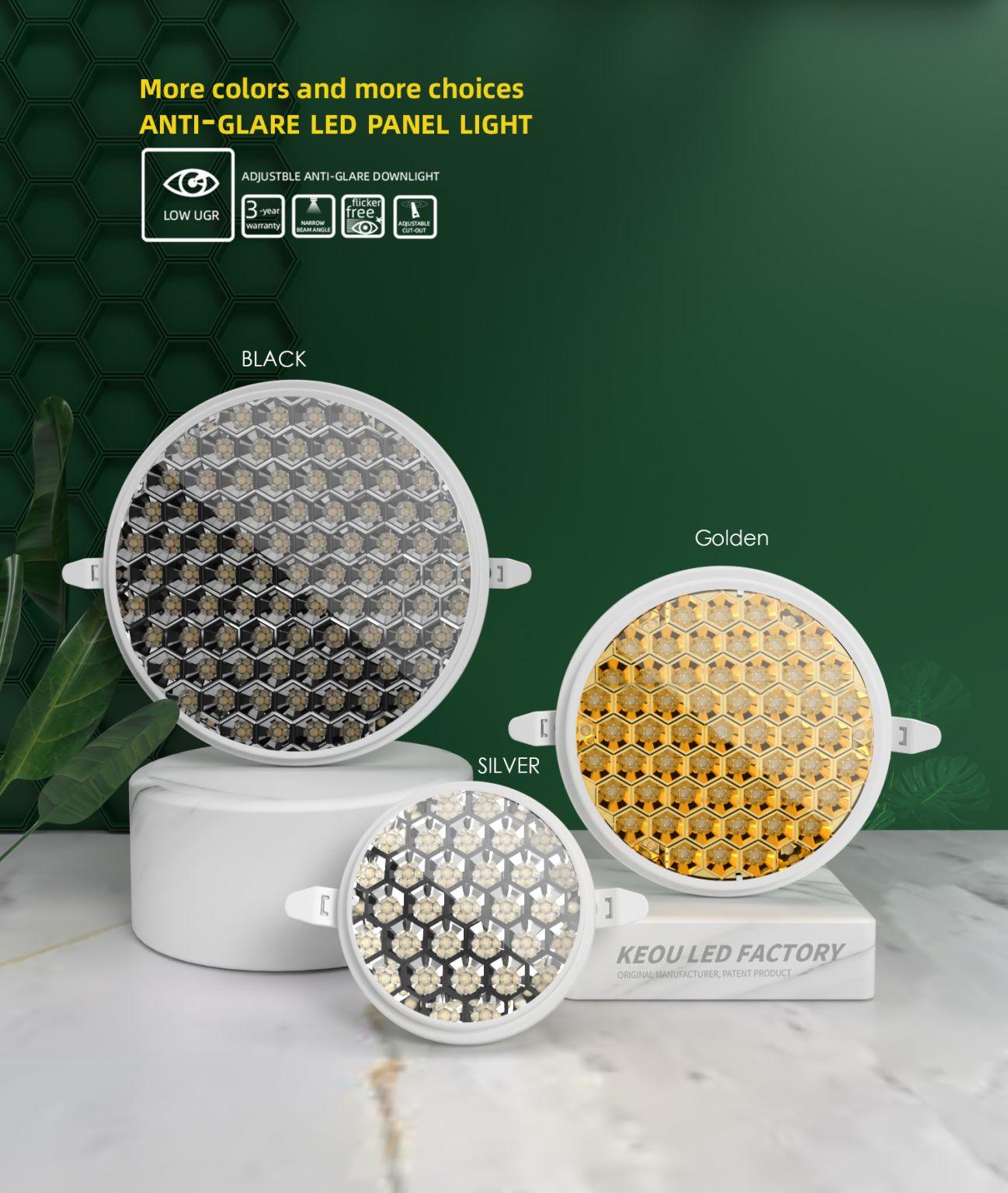 Anti Glare LED Panel Factory