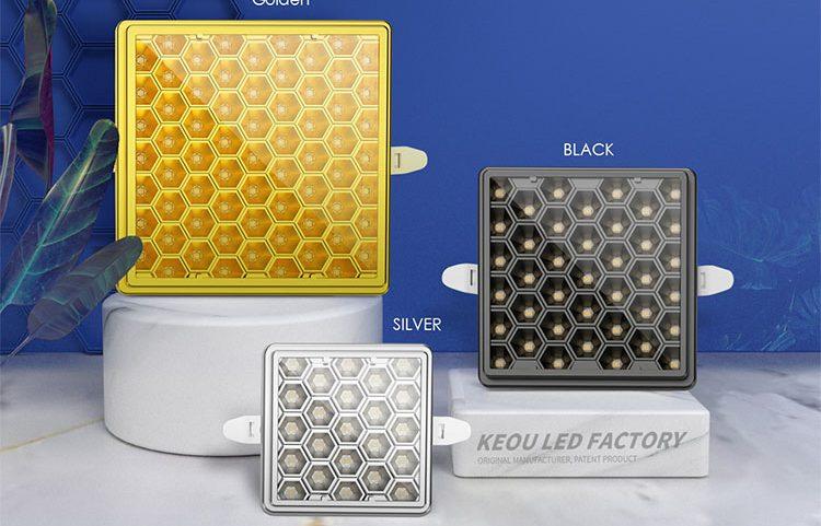 Adjustable LED Panel Light Square-KEOU New Product