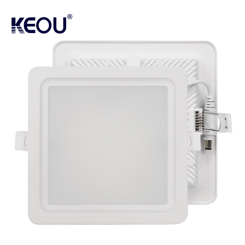 Square LED Downlight 18W 9W 12W 24W 36W New Slim Recessed Downlight Lamp Manufacturer