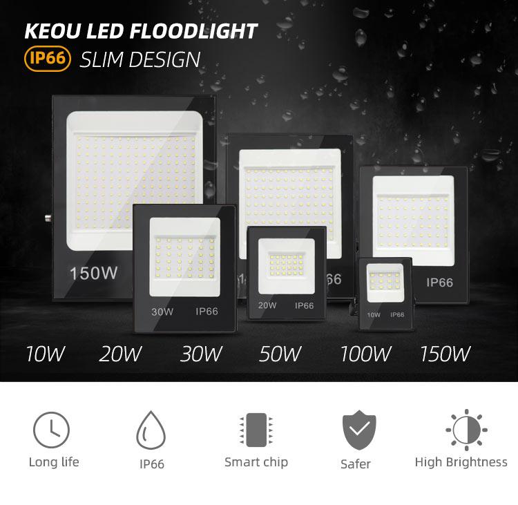 Flood light LED 100W